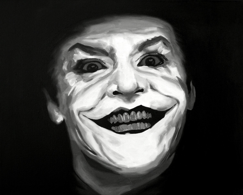 JACK NICHOLSON JOKER BATMAN POSTER ART PRINT  AMK1814