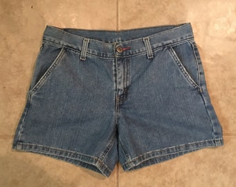 Vintage Tommy Hilfiger Shorts Size 2 Light Blue Amazing Quality
