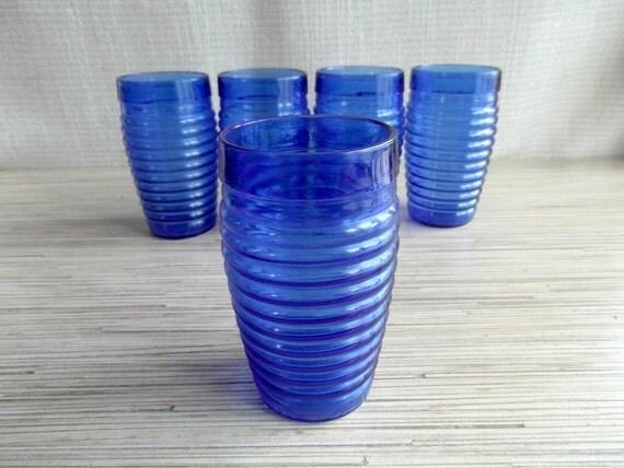 White Porcelain Drinking Glasses