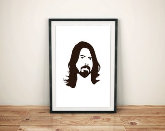 Dave Grohl (Foo Fighters) Minimal Style