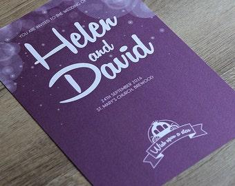fairytale wedding invitations  etsy, Wedding invitations