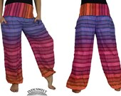 Yoga Trouser Sarouel Pant Harem Pant striped