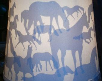 Horse Lamp Shade