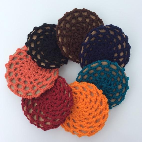 Crochet bun holder ballerina bun cover by sarasstylishstitches
