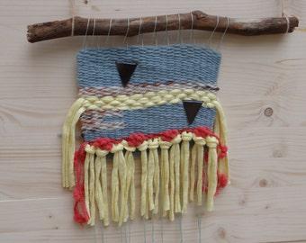 Weaving blue - yellow