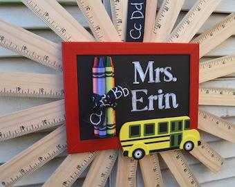 Ruler Wreath | Teacher Wreath | Teacher Gift | Classroom Wreath |Classroom Decor