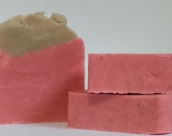Candy Cane Soap - All Natural - 5oz.