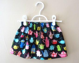 Teapot Skirt  ~ Girls