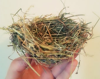 "Natural Bird Nests 4,5"" inch,Scrapbooking Embellishments, Wreaths Craft Supplies"