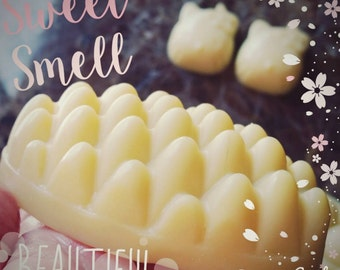 Massage Bars melt with the heat from your body! These smell and feel so good...extra moisturizing it's lotion in a bar.
