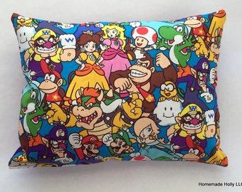 Nintendo Cotton Throw Pillow