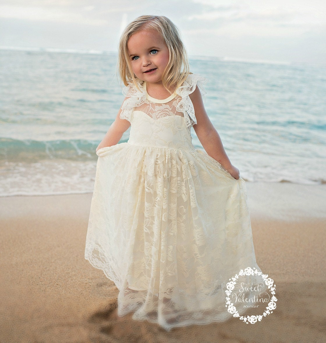 Lace Girl Dress Flower Girl Dress Flower Girl By