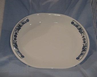 Corelle Old Town Blue Platter