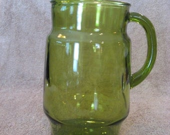 Green Pitcher