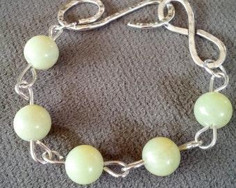 Yellow Jasper Bracelet