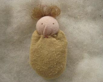 Yellow Pocket Doll