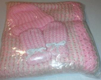 New born baby blanket set