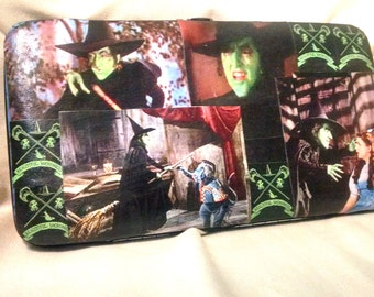 Wizard of Oz wallet Oz purse Wicked Witch wallet Glinda the good witch wallet Wizard Of Oz purse custom wallet