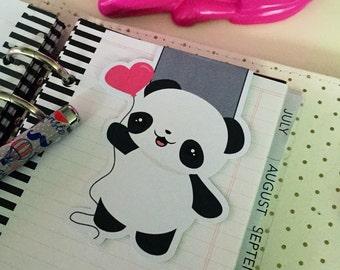 Magnetic bookmarks | Kawaii lovely panda