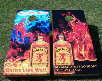 Fireball Whisky Etsy