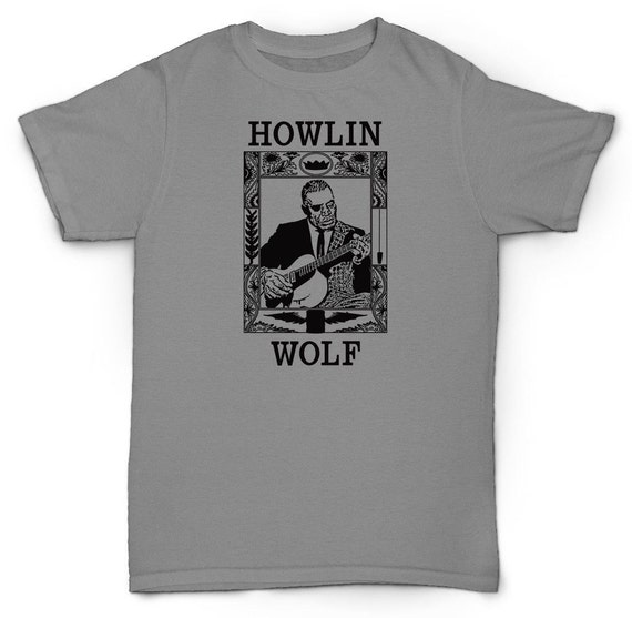 Howlin Wolf T Shirt Blues Soul 50 S 60 S 70 S By