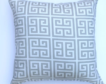 "Grey Aztec 20"" x 20"" Pillow Cover"