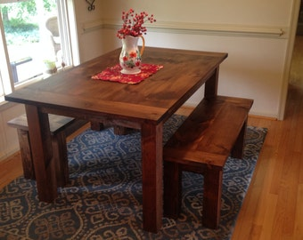 Custom Provincial Farm Table Up To 9' Length!!!