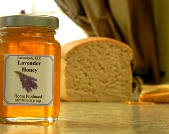 Lavender Honey - Raw, All-Natural, Smooth, Lavender, Sweet