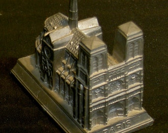 Notre Dame Cathedral miniature