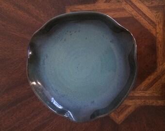 Art Deco glazed pottery ashtray/dish