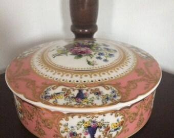 Andrea by Sadek Decorative Round Trinket Box Collection Sevres