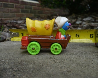 Vintage Grover in Covered Wagon Muppets Playskool
