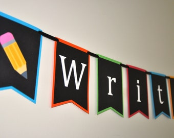 Back to School Banner - Write On