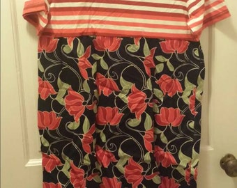 CLEARANCE girls size 16 dress. Handmade.