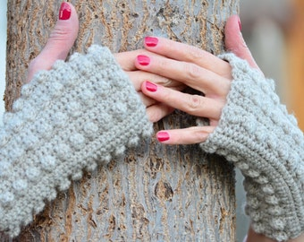 Fingerless gloves, Women wool mittens, Wrist warmers, Fingerless mittens, texting gloves, Open wrist warmers, knit gloves, gift for her