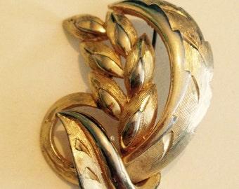 SALE ITEM Wheat design brooch