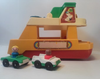 Fisher Price  Vintage Ferry Boat #932 - Almost complete. 1979.