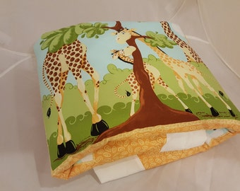 Baby Blanket - Baby Comforter - Baby Quilts - Toddler Blanket - Toddler Comforter - Toddler Quilts - Giraffe Family *R5*