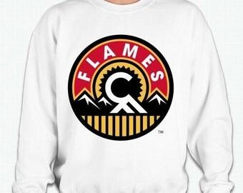 Calgary Flames vintage logo  sweatshirt