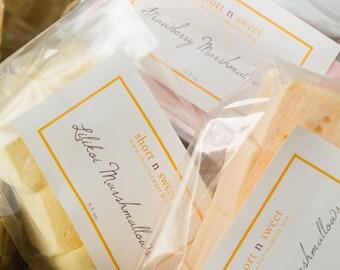 Gourmet marshmallow variety pack