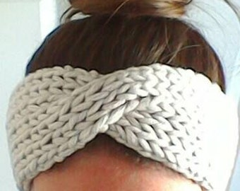 Twisted Earwarmer Headband