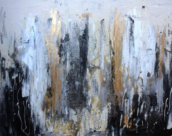 Drippy Neutral Abstract
