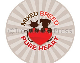 Fun Buttons 'Mixed Breed'
