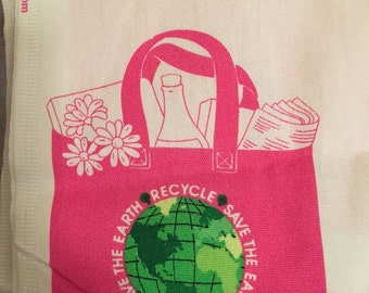 DIY - Save The Earth Tote Bag