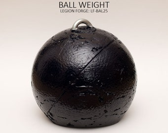 Legion Forge: Ball Weight (LF-BAL25) Approx. 25 Pounds with Steel Attach Point