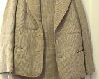 Vintage Harris Tweed Women's Suit