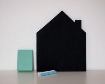 Mini House Blackboard Set
