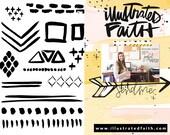 Emily's Patterns 4x6 Stamp Set