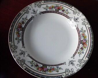 5 Bowls MIKASA  CAMBRIDGE  L9015 ,Rimmed Bowl , 8 3/8 inch Bowl, Vintage Fine China, Japan