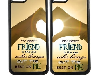 CUSTOM PHOTO PHONE- Case Best Friends Forever Personalized cell phone case - Mix & Match, Iphone 6a, Samsung Galaxy